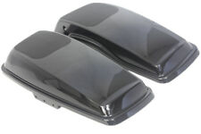 Midnight pearl color 6*9 Speaker Lids for Harley Davidson extend bags 2014-2018