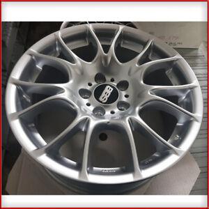 Cerchi in lega CK BBS 8X18 5X120 ET18 DS BMW Serie 5 E60 / E61 Silver Serie 3
