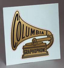 PRECUT COLUMBIA DISC PHONOGRAPH GRAMOPHONE WATER SLIDE DECAL