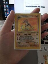 Kabutops Fossil 9/62 Rare Holo Pokemon Card
