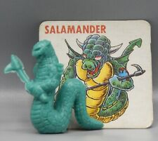 Japanese NECLOS FORTRESS keshi figure SALAMANDER rubber monster w/ card part 2 !