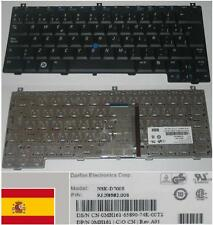 Qwerty Keyboard Spanish DELL D420 D430 NSK-D700S 0MH161 MH161 9J.N8582.00S Black