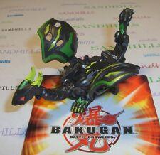 Bakugan Dharak Black Darkus Gundalian Invaders DNA 750G & cards