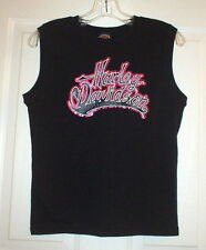 NWOT * HARLEY-DAVIDSON SLEEVELESS KNIT TOP * MEDIUM * MONTANA H-D * MISSOULA, MT
