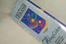 """Toland """"Let's Party"""" Nylon House Banner (28""""x44"""")- For Outdoor Flag Pole - New"""