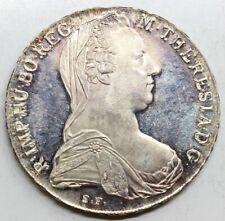 AUSTRIA 1780 MARIA TERESA 1 THALER MONEDA PLATA PROOF