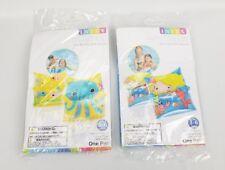 (Lot of 2) INTEX Arm Float Bands Swim Armbands Swimming Toys Mermaid & Sea Buddy