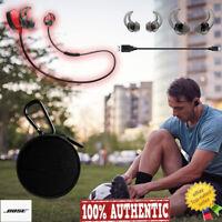 NEW Bose SoundSport Wireless Bluetooth Headphones Headset Earbuds Neckband RED