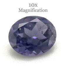 1.98ct Oval Purple Spinel GIA Certified Unheated