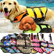 Dog Buoyancy Aid / Pet Life Jacket - Swimming & Boating /Surfing- Size S/M/L/XXL