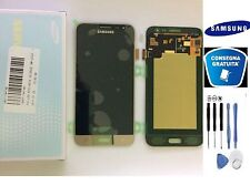 DISPLAY LCD + TOUCH SCREEN ORIGINALE SAMSUNG GALAXY J3 2016 SM-J320FN GOLD +KIT