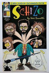 Schizo #1 (Dec 1994, Independent Publisher) VF