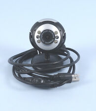 PC WEBCAMERA 12 MEGAPIXEL WITH MICROPHONE AND 6 LED, SOFTWARE IS NOT NEEDED-USED
