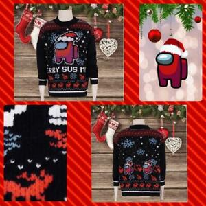 Kids Among Us Ugly Christmas Sweater Child Gift Xmas 2020 shirt hoodie Impostor
