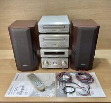 TECHNICS SC-HD550 HiFi System CD, Tape Tuner Amplifier + Speakers