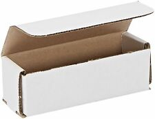50- 6x2x2 White Corrugated Carton Cardboard Packaging Shipping Mailing Box Boxes