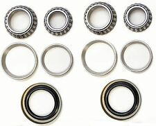 Front Wheel Bearing & Race & Seal Kit For 1965-1972 Chevrolet Chevelle (2WD 4WD)