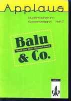 Balu & Co. - Musik aus Walt Disney-Filmen - Musikmachen im Klassenverband Heft 7