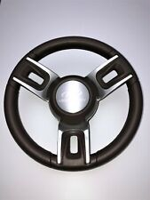 New Gussi Boat Steering Wheel with stamped custom aluminum logo