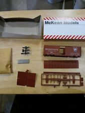 McKean Models516-226-7709 Trg#111 Pennsylvania #24067 Ho 40'×28D Box Car Kit