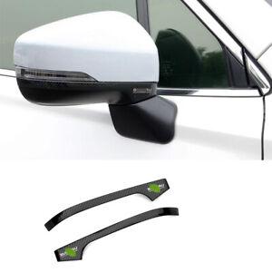 For Subaru forester XV 2018-2020 carbon fiber Rearview Mirror Anti-scratch strip