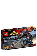 Lego 76047 Black Panther Pursuit & Lego Marvel Super Heroes 3 Minifig