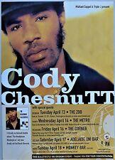 CODY CHESNUTT RARE 2004 AUSTRALIA PROMO TOUR POSTER FUNK SOUL HIP HOP ZOO BRIS