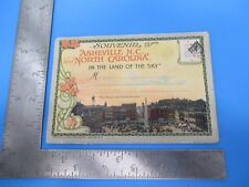 Vintage Souvenir Asheville North Carolina Colored Tourist Envelope Photos S4523