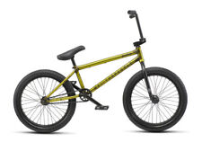 """WE THE PEOPLE 2019 JUSTICE 20.75 MATTE TRANS YELLOW COMPLETE BMX BIKE 20.75"""""""