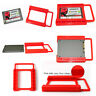 """Mounting HDD Adapter Solid State 2.5""""to 3.5"""" Tray Bracket SSD Hard Drive Plastic"""