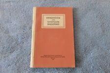 1950 Handbook On Shotgun Shooting - Great Information 144pp