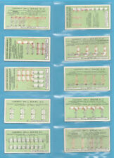 Incomplete Sets Military/War Loose Collectable Cigarette Cards