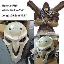 Overwatch OW Reaper weiß Maske PVC Mask Helmet Helm Kostüm Cosplay Costume