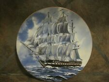 Great American Sailing Ships~ U.S.S. Constitution ~ Rosenthal,/Danbury Mint, Euc