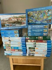 Ravensburger, Gibsons, Falcon 500 & 636 Piece Jigsaw Puzzles - COMPLETE
