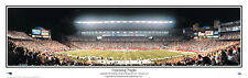 New England Patriots GILLETTE STADIUM OPENING NIGHT 2002 Panoramic Poster Print