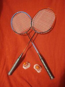 2 Player Badminton Racquet Replacement Set