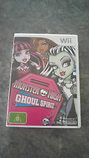 Monster High: Ghoul Spirit (Nintendo Wii, 2011) PAL