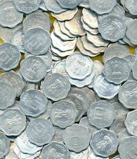 INDIA 10 PAISE SMALL COIN 100 COINS LOT, KOLKATA MINT*, UNC/AUNC/EF 100 COINS