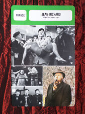 JEAN RICHARD -  MOVIE STAR - FILM TRADE CARD - FRENCH