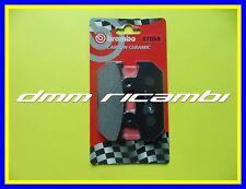 Pastiglie freno posteriori BREMBO SUZUKI BURGMAN 400 09 Carbon Ceramic ABS 2009