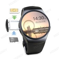 KW18 Bluetooth Smart Watch SIM GSM Heart Rate Phone Mate For Android Samsung iOS