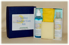 Aniline Leather After Care Kit - Clean & Protects Sofas, Shoes, Gloves