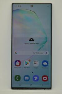 Samsung Galaxy Note10+ 5G PLUS SM-N976U 256GB Aura Glow Black AT&T GSM UNLOCKED