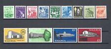 More details for nigeria 1961 sg 89/101 mnh cat £27