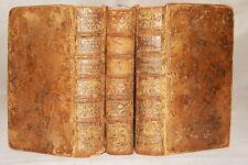 DE LA MANIERE D'ENSEIGNER ET D'ETUDIER LES BELLES LETTRES 3 TOMES ROLLIN 1765