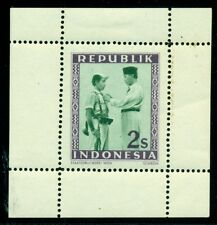 INDONESIA #31 2s Soekarno, PROOF – perforated, og, NH (LH top margin only), VF