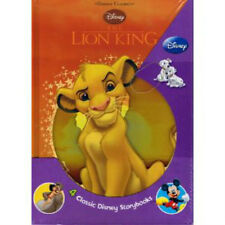 Four Hardcover Walt Disney Classics Books The Lion King The Jungle Book and more