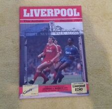164) Liverpool v Norwich City  division one 17-12-1988