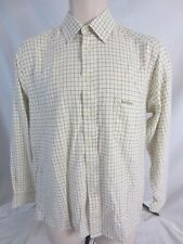 Barbour Ivory Check Long Sleeve Button Front Shirt - Men's 15 - CC300